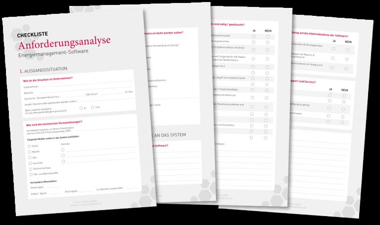 Anforderungen Energiemanagementsoftware
