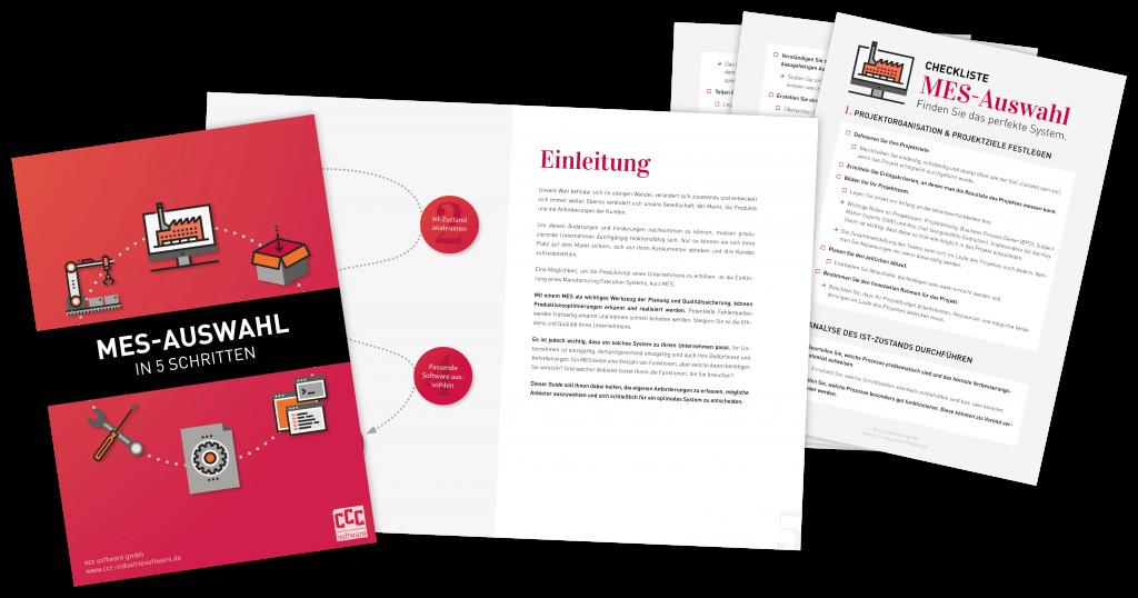 Vorschau Guide und Checkliste MES Auswahl in 5 Schritten