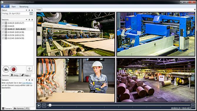 Bildverarbeitung-Industrielle-Videoanalyse